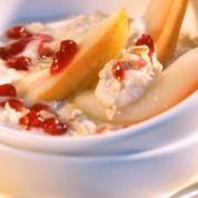 蔓越莓蜂蜜肉桂粥