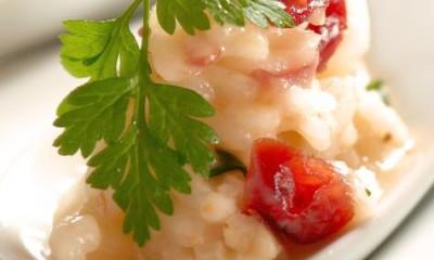 扇贝蔓越莓意大利饭