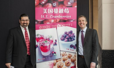 美国蔓越莓市场协会在上海、北京、深圳举办研讨