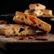 美国蔓越莓迷迭香意式手工面包