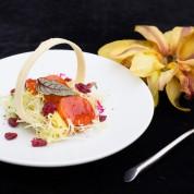 美国蔓越莓鲜带沙拉