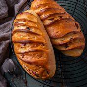 香草蔓越莓维也纳面包