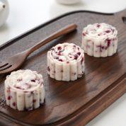 蔓越莓山药糕